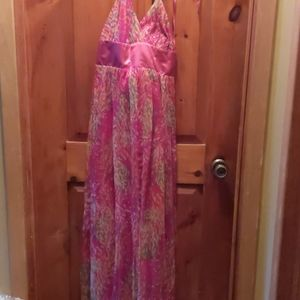 Ladies dressy Maxi length gown
